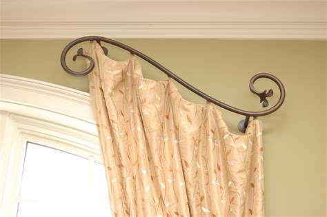 Curtain: amazing custom curtain rods Custom Curved Curtain ... Jcpenney Curtains And Drapes