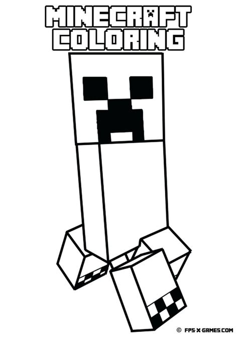 minecraft santa coloring page minecraft coloring games cartoon and games coloring pages