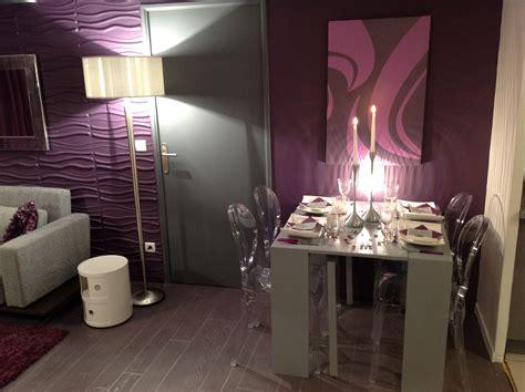 chambre couleur chaude amazing couleurs prune et gris pour dcorer un salon