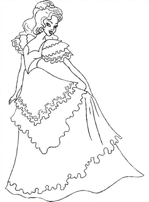 coloring pages of beautiful dresses beautiful wedding dress coloring pages images styles