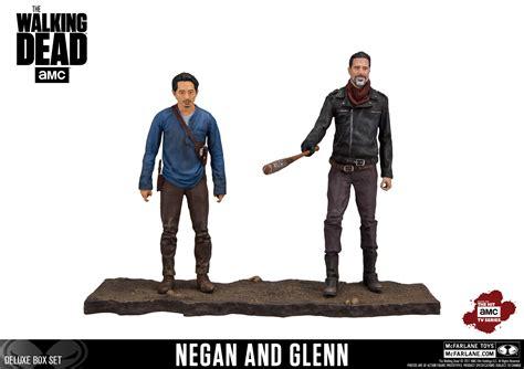 Mcfarlane Toys The Walking Dead Tv Negan 7 Figure 12 mcfarlane walking dead tv series negan and glenn 2 pack