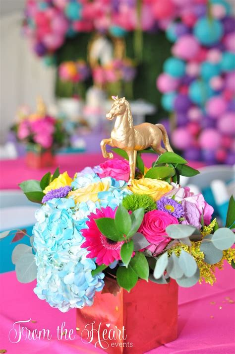 kara s ideas vibrant unicorn birthday kara s