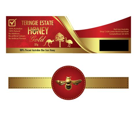 design label inc elegant serious label design for red lion australia by