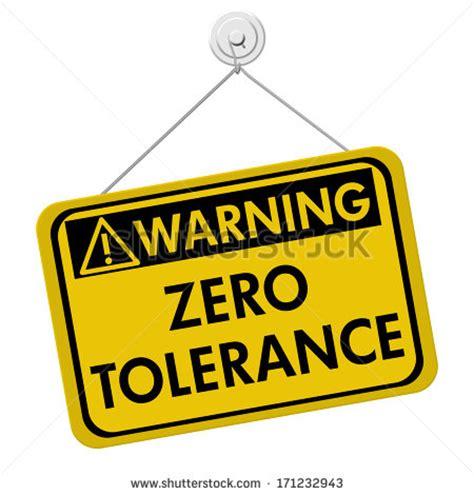 zero torelance tolerance stock photos images pictures