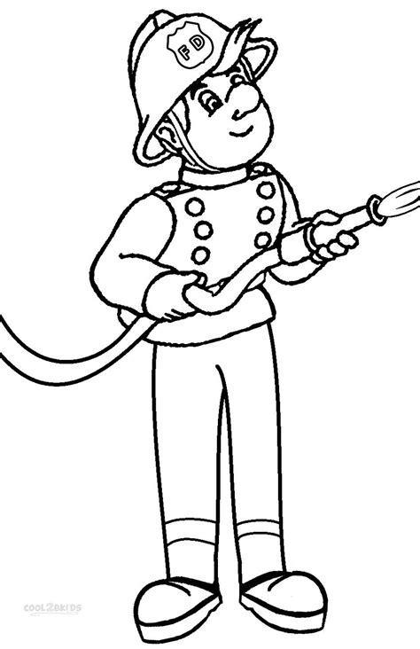 Fireman Sam Coloring Pages by Free Printable Fireman Coloring Pages Cool2bkids