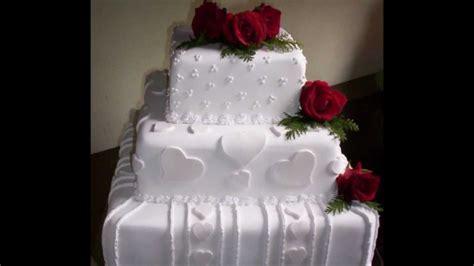 decorar bolo quadrado bolos quadrados para casamento rosas ideias mix