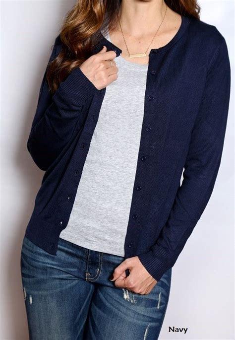 sweater delamo db blue navy blue sweaters cardigans