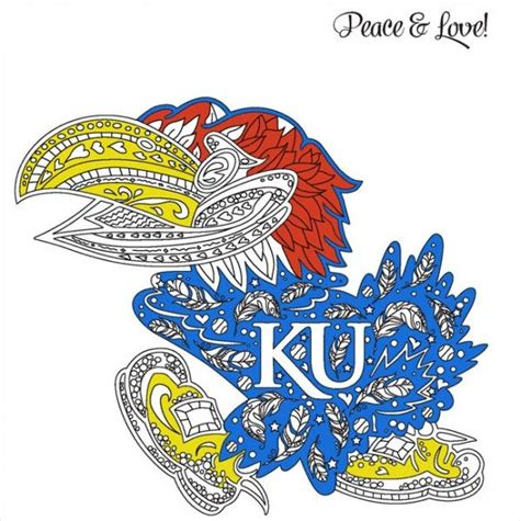 ku basketball coloring pages 278 best images about rock chalk on pinterest rocks