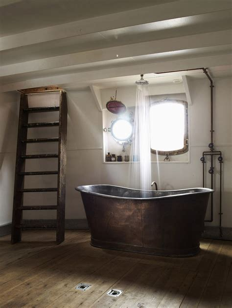 bathtub ideas 20 rustic bathroom designs with copper bathtub