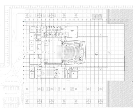 national theatre floor plan gallery of bahrain national theatre architecture studio 7