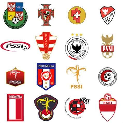 Kaos Bola 2 Mari Dukung Persib Bandung plesetan lambang lambang pssi