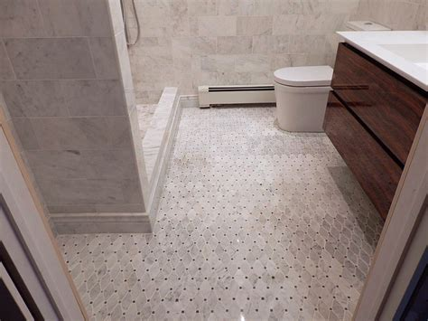 marble threshold bathroom marble threshold with flush trim bathroom modern and