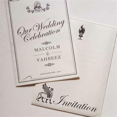 Parsi Wedding Invitation Cards parsi wedding invitations