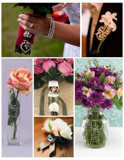 ideas for remembering your loved ones on your wedding day