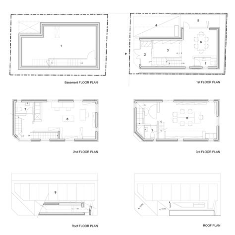 office block floor plans theplus architects builds narrow office block for a south