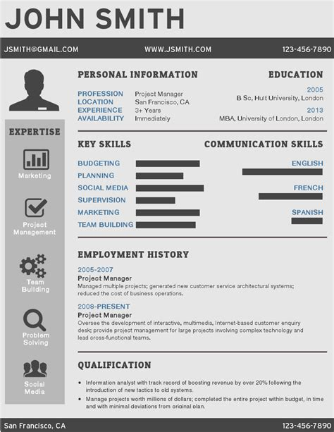resume template resume format template free free resume template