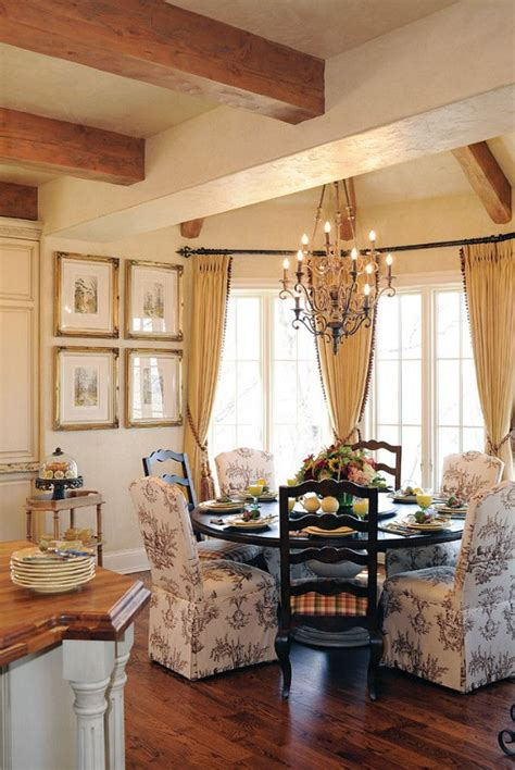 french country kitchen  dining areas images