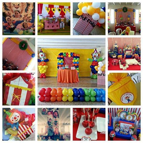 Carnival Birthday Decorations by 98 Best Images About Circus Birthday Ideas On