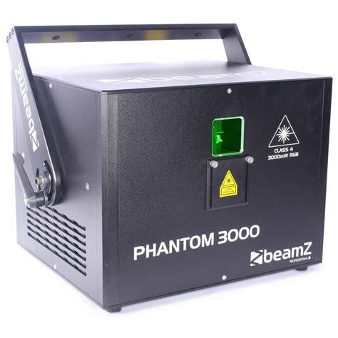 diode laser rgb beamz professional phantom 3000 diode laser rgb analoog 40kpps fc