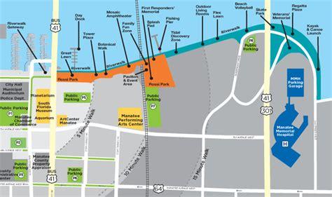 riverwalk map bradenton riverwalk lizzie lu s