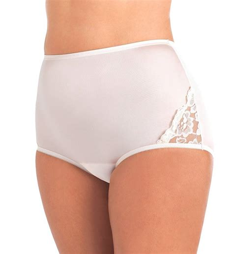 Vanity Fair Thongs by Vanity Fair Lace Nouveau Brief 13001 Vanity Fair