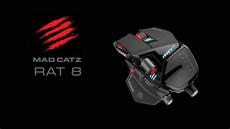 Mad Catz Rat 8 Gaming Mouse review mad catz rat 8