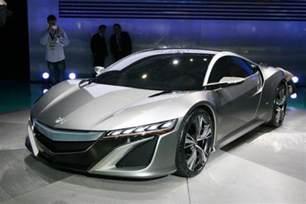 acura nsx concept gets mid engine v6 hybrid sh awd 2012