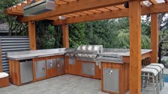 pergola kitchen 3 bbq islands complete knockdown diy wholesale patio store