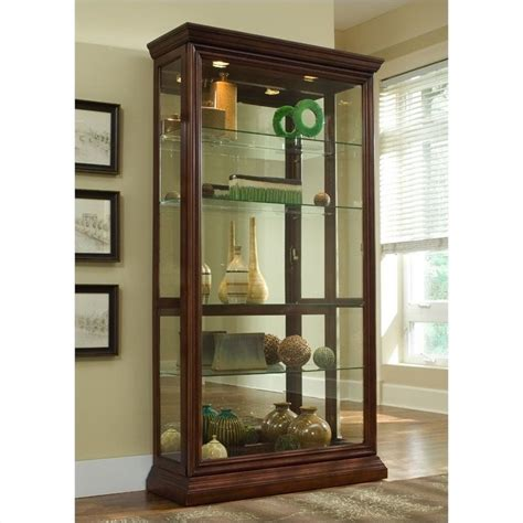 Discount Drapes And Curtains Pulaski Eden House Curio Cabinet 20542