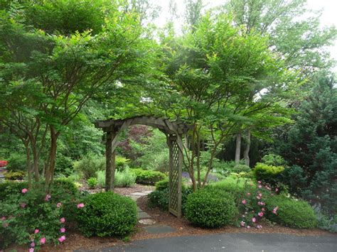 Garden Arch Houzz Garden Entrance Traditional Landscape Richmond By