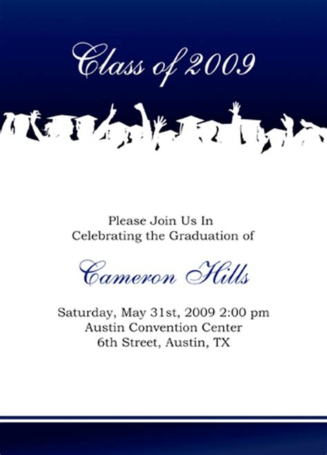 free templates for graduation announcements 2014 funny graduation invitations template best template