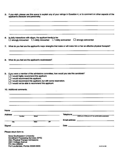 Occupational Therapy Contract Template Physical Therapy Evaluation Form Florida Free Download