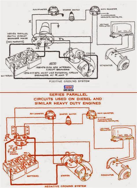 parallel  series battery wiring diagram wiring diagram