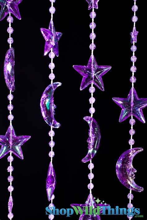 purple beaded curtains purple and moons beaded curtains moons