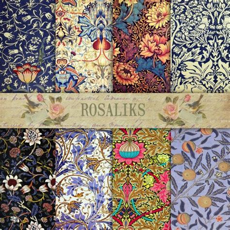 Can You Decoupage With Wallpaper - 17 best images about floral digital paper on