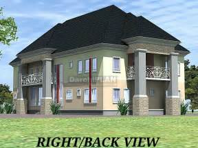 Nigeria Building Style Architectural Designs By Darchiplan 6 Bedroom Duplex House Plans In Nigeria