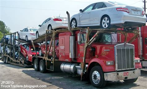 truck trailer transport express freight logistic diesel