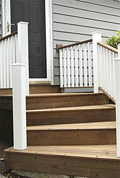 Wooden Front Stairs Design Ideas Wooden Front Steps House Ideas