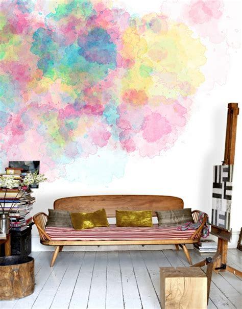 Wand Streichen Ideen Muster 6706 by Kreative Wandgestaltung Mit Wasserfarben F 252 R Ein