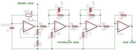 function generator circuit diagram 34 wiring diagram