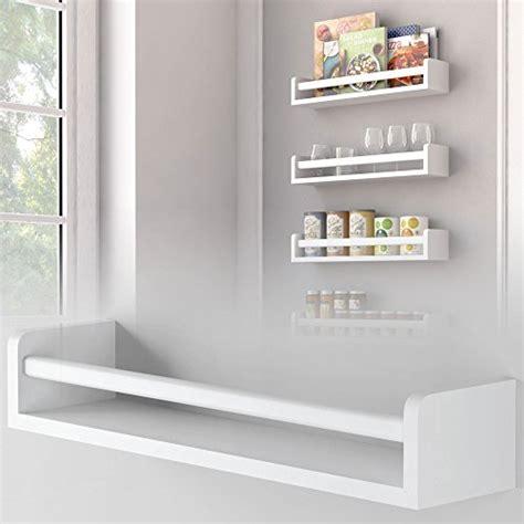 White Spice Rack 1 White Kitchen Wall Shelf Spice Rack Organizer Wood Ships