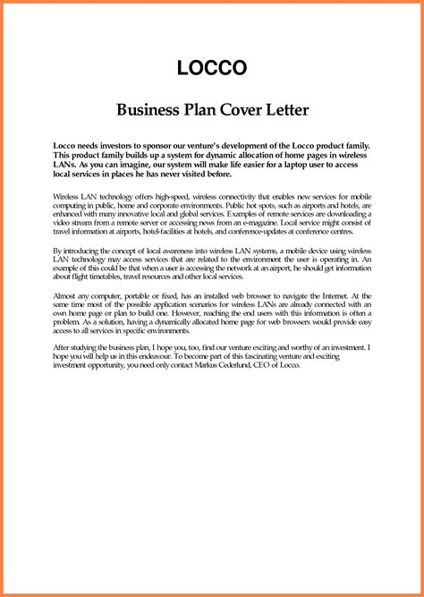 Business Proposal Cover Letter Mughals Performing Arts Business Plan Template