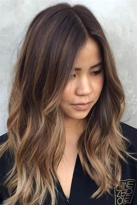 hairstyles dark hair medium length 30 balayage hair color ideas with blonde brown and