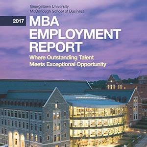 Georgetown Evening Mba by Key Facts Mcdonough School Of Business Georgetown