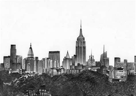 new york skyline by miikedv on deviantart