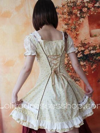 Flower Metal Blouse Size S M L 18585 cheap light yellow cotton sleeve flowers bows
