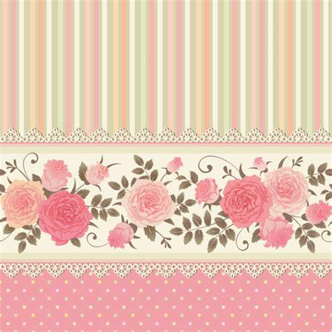 pattern pink rose vetor pink rose pattern background vector free vector in