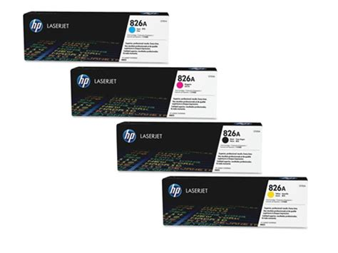 Toner Hp 826a Black Original hp 826a black original laserjet toner cartridge cf310a 1set heng computer center