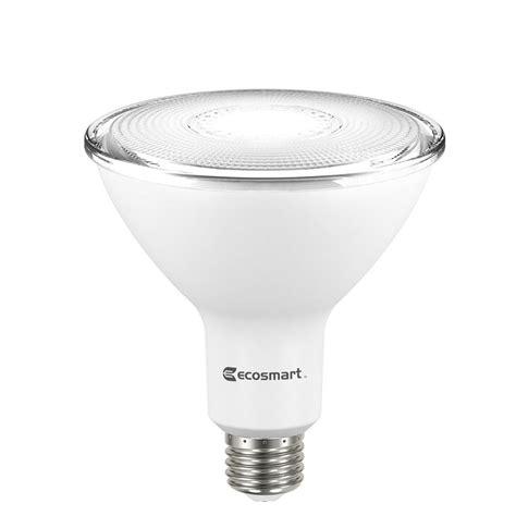 Ecosmart Led Light Bulbs Ecosmart 90w Equivalent Bright White Par38 Non Dimmable Led Flood Light Bulb 2 Pack