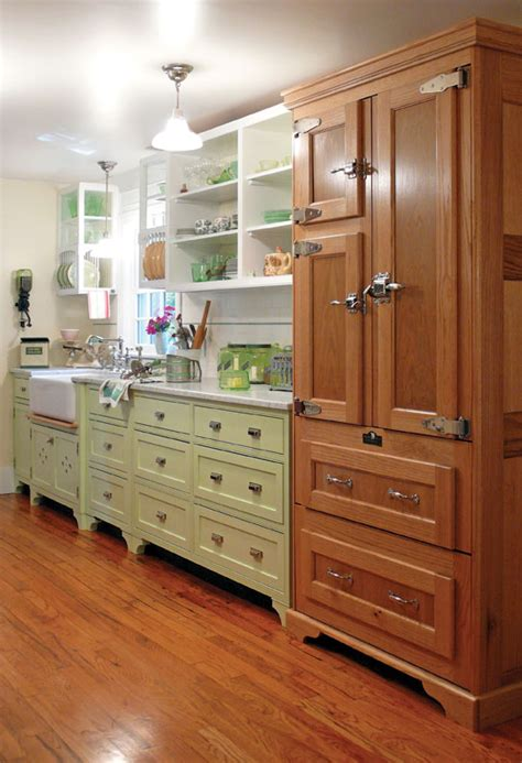 fridge that looks like cabinets 6 ways to hide kitchen appliances old house online old
